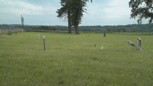 Texas Town Cemetery - - photograph provided by South Dakota Public Broadcasting producer Stephanie Rissler