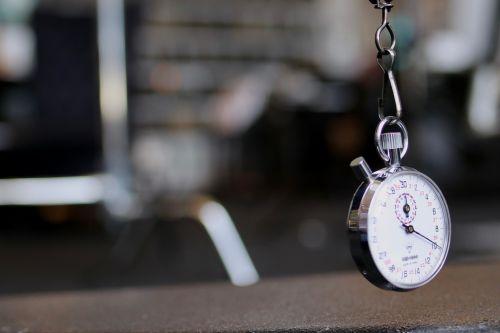 Shane Balkowitsch's stop watch - photograph by C.S. Hagen