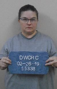 Betty Jo Krenz mugshot - ND Department of Corrections
