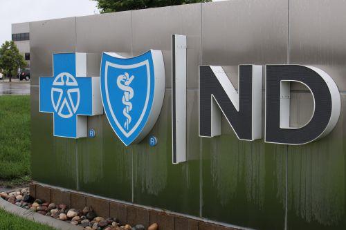 Blue Cross Blue Shield of North Dakota building - photograph by C.S. Hagen