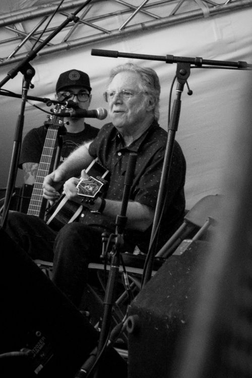 John Sebastian performing at Winnipeg Folk Fest 2019 - photograph by Nicole Hofer