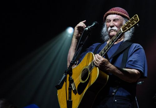 David Crosby - photograph by Will Scott asst. Kellie Miller