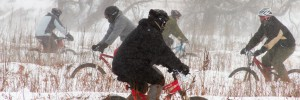 Bundle up for a winter bike rice