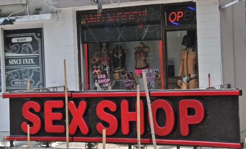 In Hong Kong the sex industry is heavily regulated but legal - photograph by C.S. Hagen