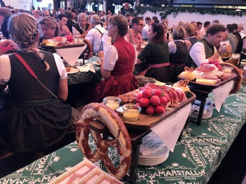 Oktoberfest in Munich - photograph by Alician Underlee Nelson
