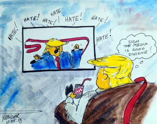 Cartoon by Daily Trump