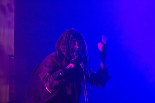 Al Jourgensen of Ministry - photograph by Sabrina Hornung