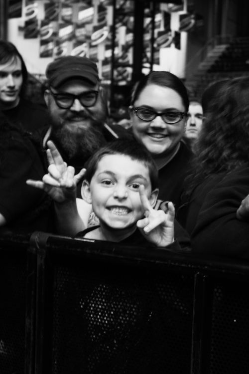Fans of all ages came out to see Slayer - photograph by Sabrina Hornung