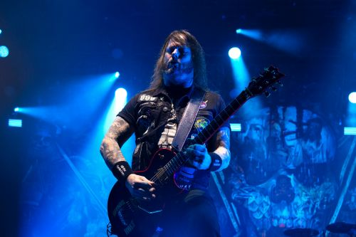 Slayer's Gary Holt - photograph by Sabrina Hornung