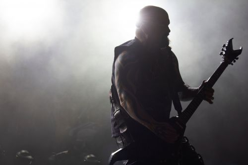 Slayer's Kerry King - photograph by Sabrina Hornung