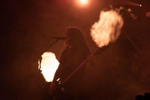 Tom Araya of Slayer - photograph by Sabrina Hornung