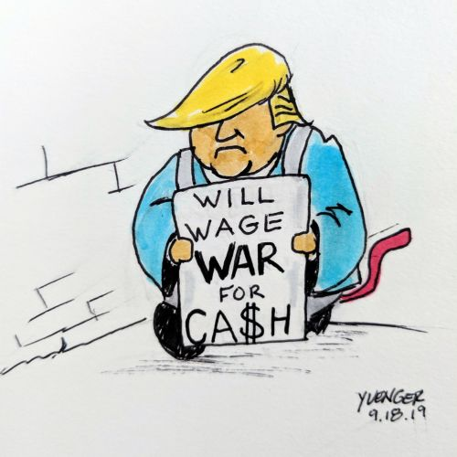 Daily Trump cartoon