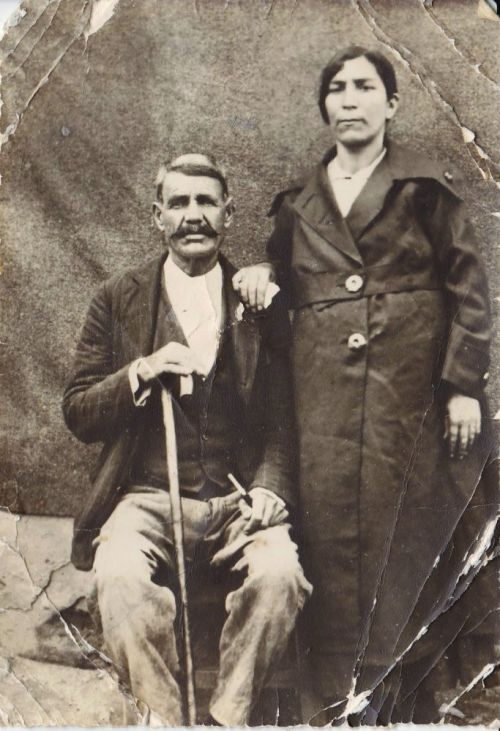 Hadji and Nouritza - photograph provided by Sabrina Hornung