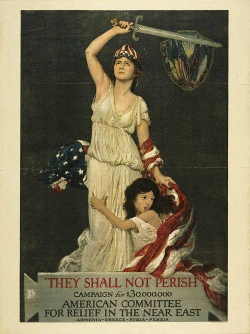 NER Relief poster circa 1920s