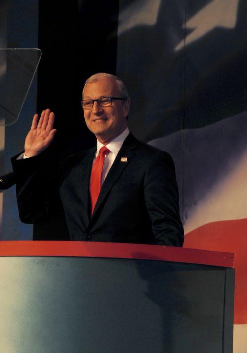 Senator Kevin Cramer - photograph by C.S. Hagen