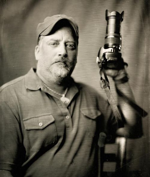 Chris Hagen - wet plate photograph by Shane Balkowitsch