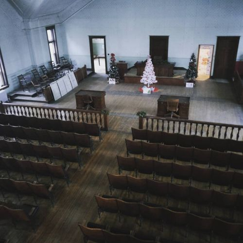 1883 Stutsman County Courtroom - photo by Sabrina Hornung