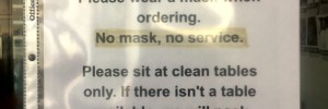 Local Restaurants Implement Their Own Mask Policies