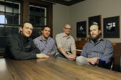 Ike Morsch, Matt Cook, Nick Peterson and Travis Atwood