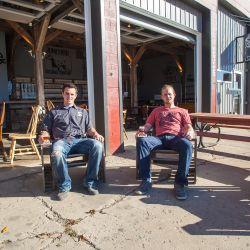 Aaron and Dan Juhnke // Photo by J Earl Miller