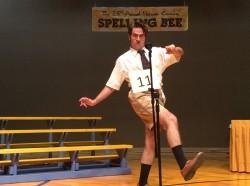 Cody Gerszewski as William Barfee in The 25th Annual Putnam County Spelling Bee / Photo by Carina DuMarce