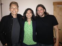 Joshua, Diane and Ryan at Misfit Con in Fargo