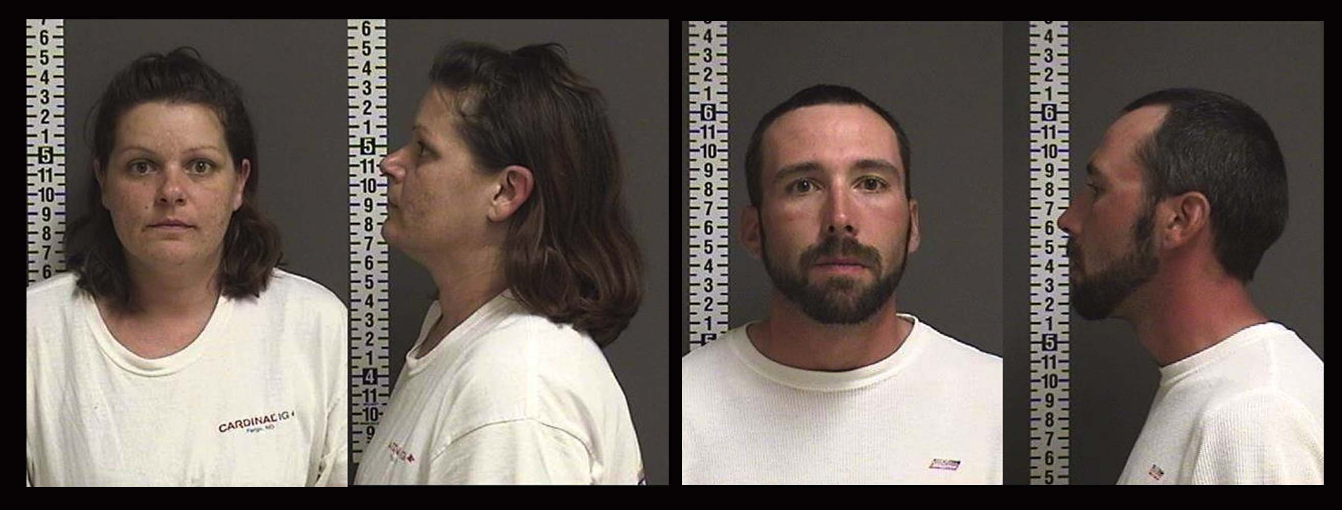 Brooke Lynn Crews and William Henry Hoehn - photo provided by the Fargo Police Department