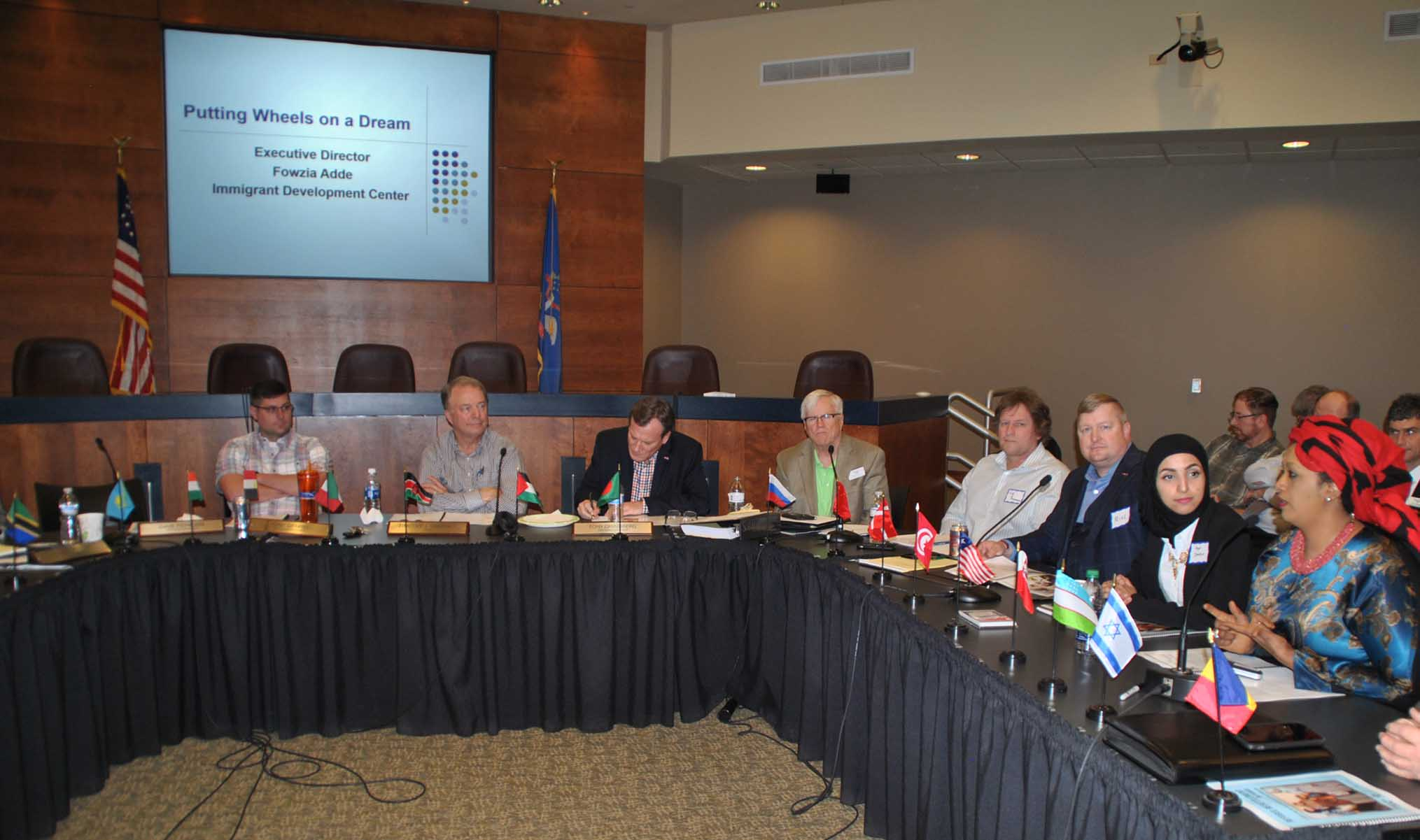 Fargo Human Relations Commission meeting - photo by C.S. Hagen