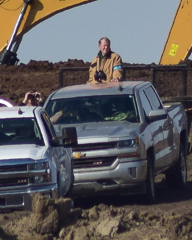 Private security personnel along pipeline route - online sources