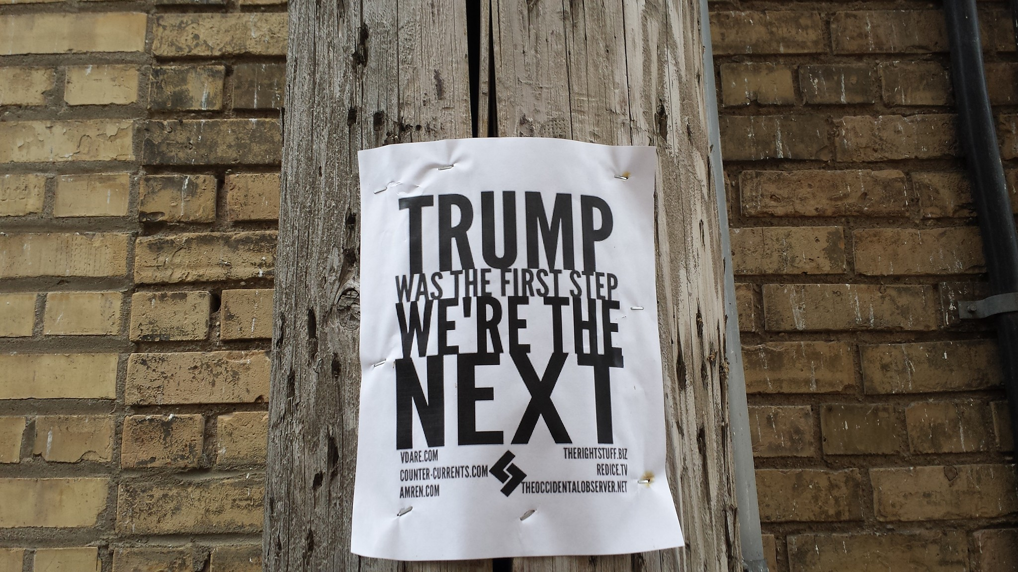 Trump poster - photo provided by Christopher A. Smith